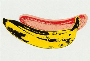 banana del gran Andy Warhol